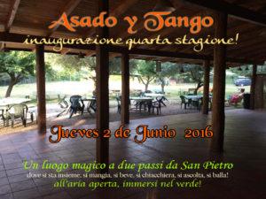 Asado y Tango 2-6-2016
