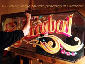 Muscia_pintando_El Arrabal
