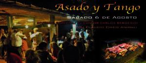 ASADO Y TANGO 6-8-2016