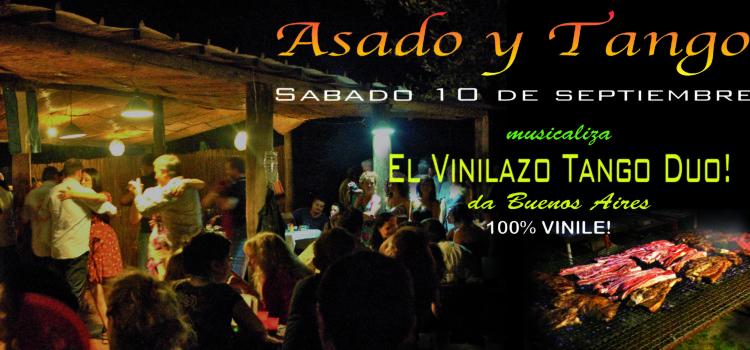 ASADO Y TANGO Vinilazo