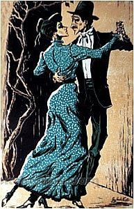 Tango Art Print - Compadrito711