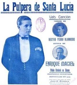 Ignacio Corsini - La pulpera de Santa Lucia